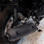 バイクマフラー黒