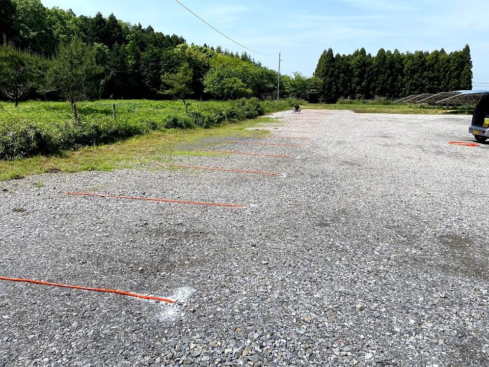 駐車場のライン引き1
