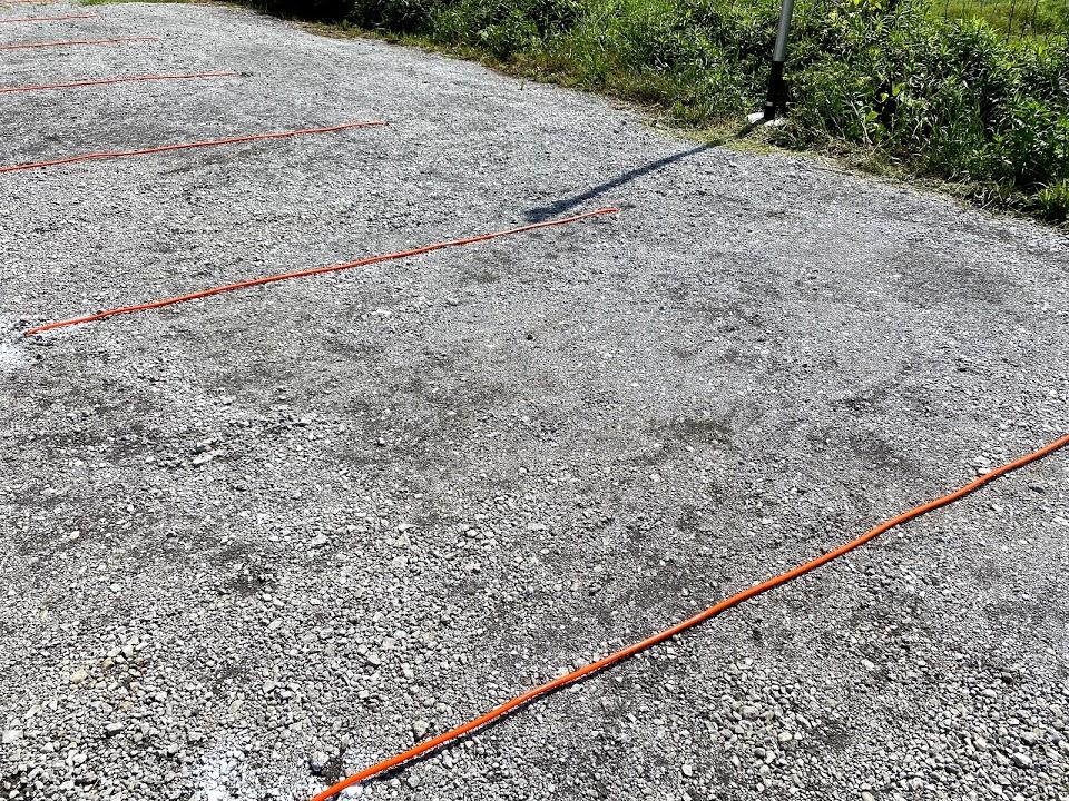 駐車場のライン引き2